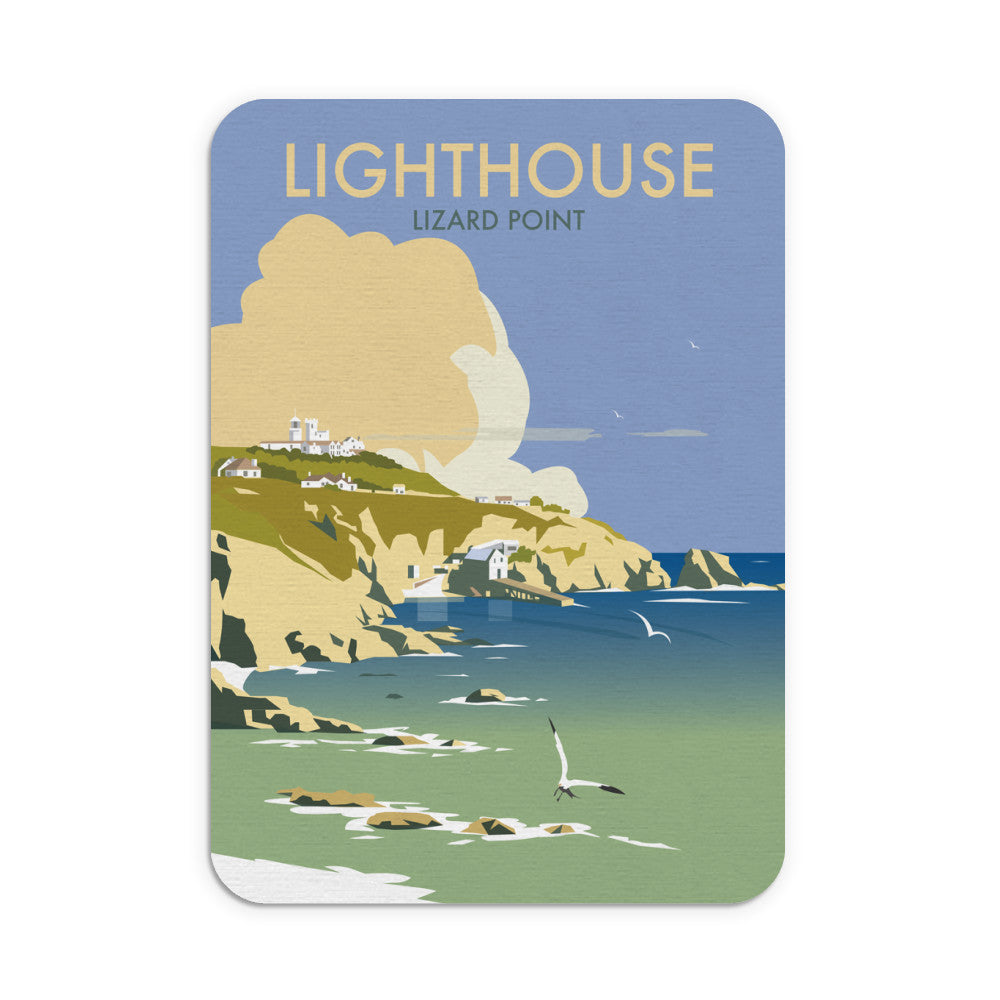 Lizard Point Lighthouse, Cornwall Mouse Mat