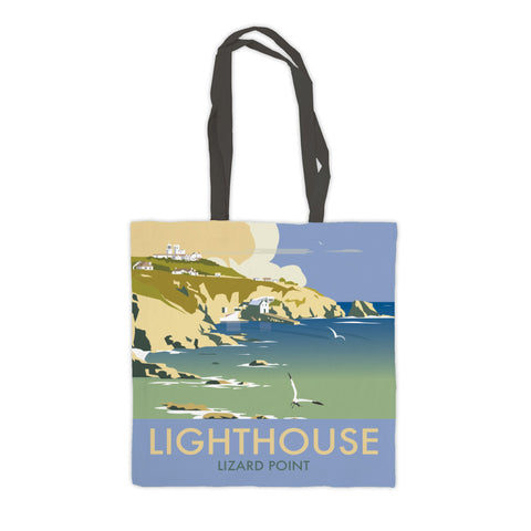 Lizard Point Lighthouse, Cornwall Premium Tote Bag