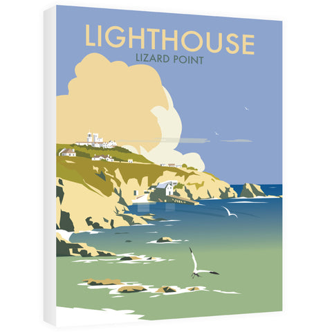 Lizard Point Lighthouse, Cornwall Canvas