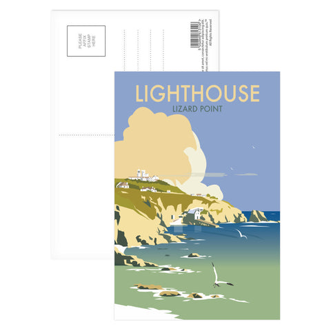Lizard Point Lighthouse, Cornwall Postcard Pack