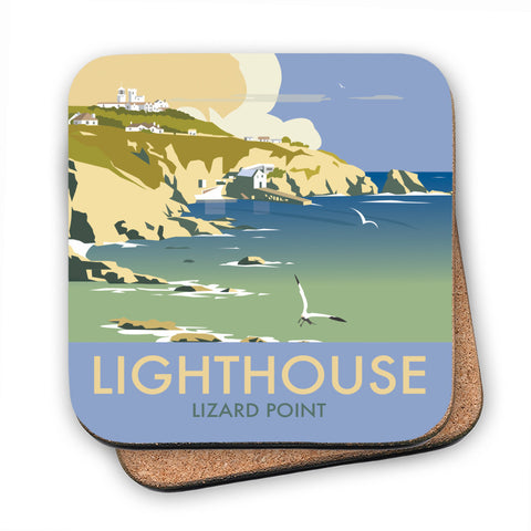 Lizard Point Lighthouse, Cornwall MDF Coaster