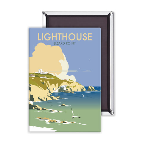 Lizard Point Lighthouse, Cornwall Magnet