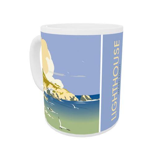 Lizard Point Lighthouse, Cornwall Coloured Insert Mug
