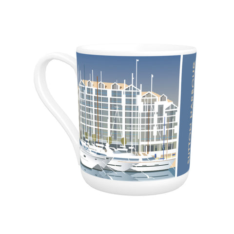 Sutton Harbour, Plymouth Bone China Mug