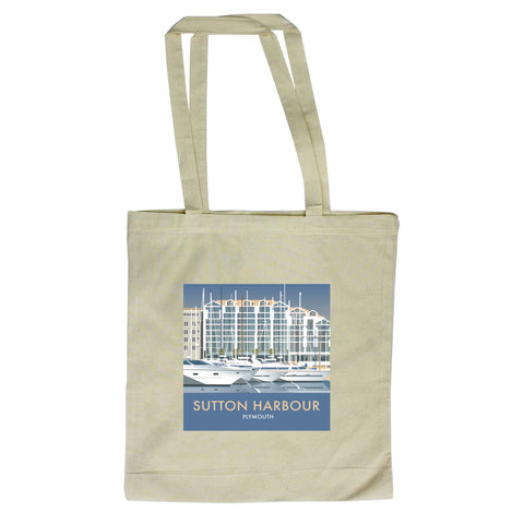 Sutton Harbour, Plymouth Canvas Tote Bag