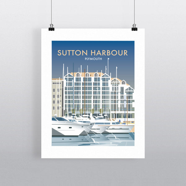 Sutton Harbour, Plymouth 11x14 Print