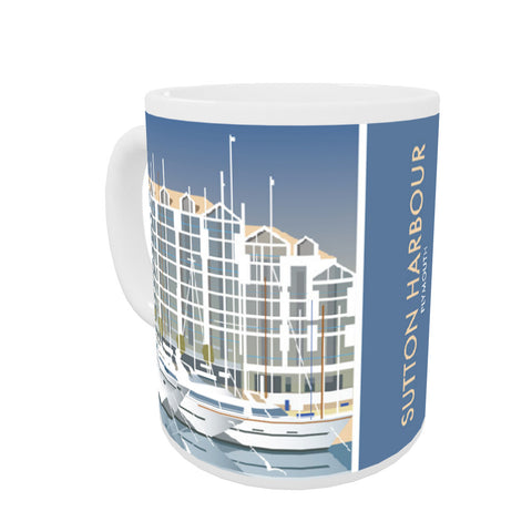 Sutton Harbour, Plymouth Mug