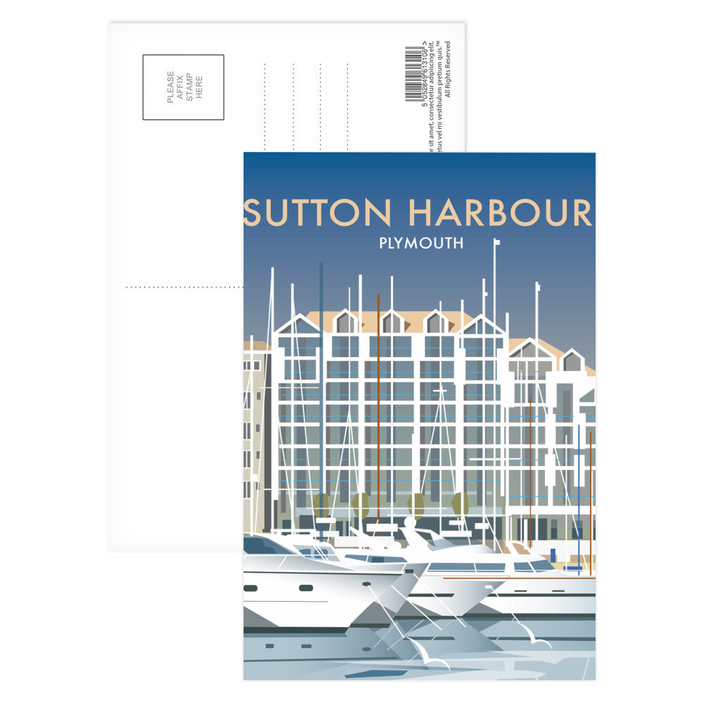 Sutton Harbour, Plymouth Postcard Pack