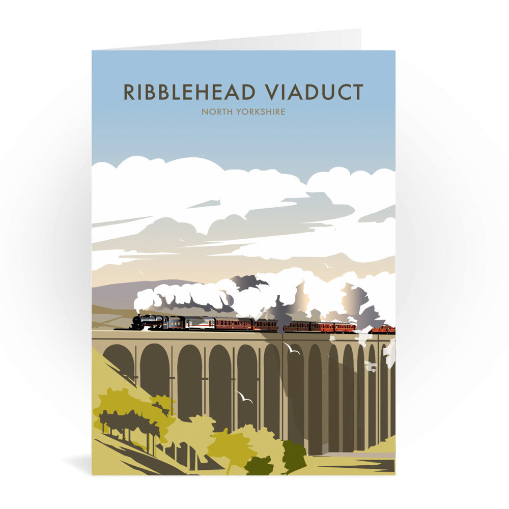Ribblehead Viaduct, North Yorkshire Greeting Card 7x5