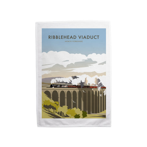 Ribblehead Viaduct, North Yorkshire Tea Towel