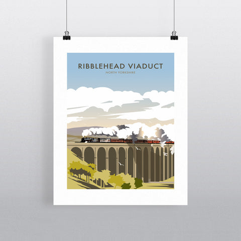Ribblehead Viaduct, North Yorkshire 90x120cm Fine Art Print