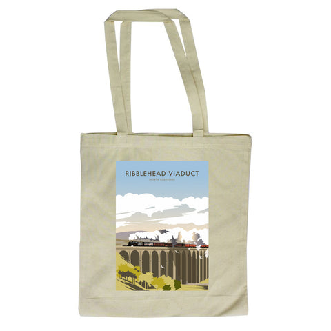 Ribblehead Viaduct, North Yorkshire Canvas Tote Bag