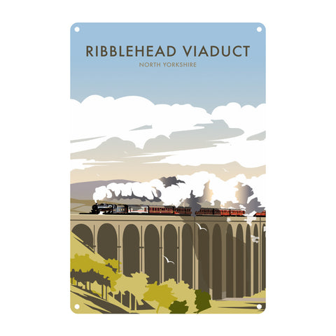 Ribblehead Viaduct, North Yorkshire Metal Sign