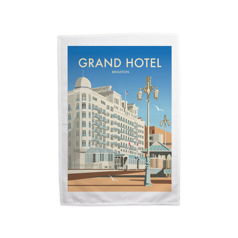 Grand Hotel, Brighton Tea Towel