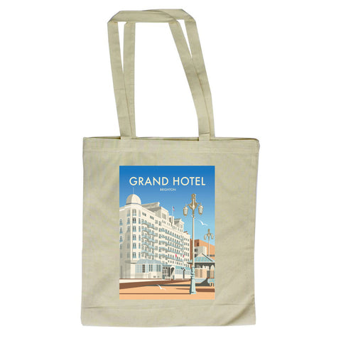 Grand Hotel, Brighton Canvas Tote Bag