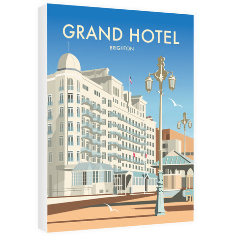 Grand Hotel, Brighton 30cm x 45cm Canvas