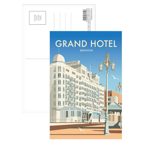 Grand Hotel, Brighton Postcard Pack