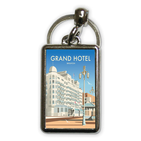 Grand Hotel, Brighton Metal Keyring