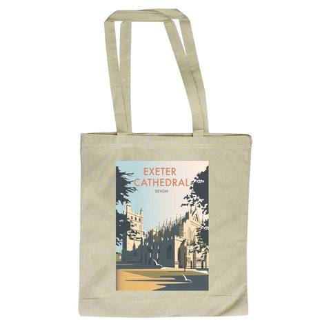 Exeter Cathedral, Devon Canvas Tote Bag