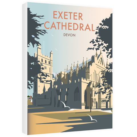 Exeter Cathedral, Devon 40cm x 60cm Canvas