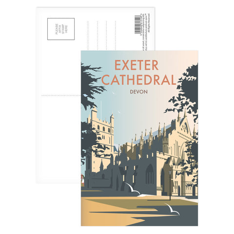 Exeter Cathedral, Devon Postcard Pack