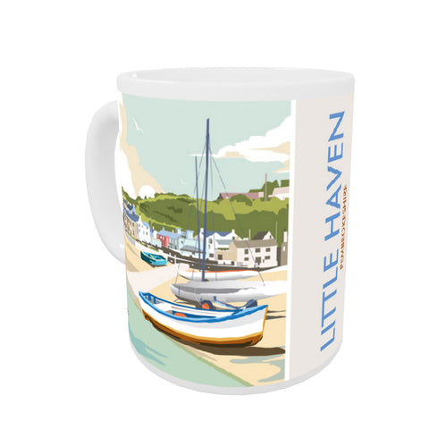 Little Haven, Pembrokeshire Coloured Insert Mug
