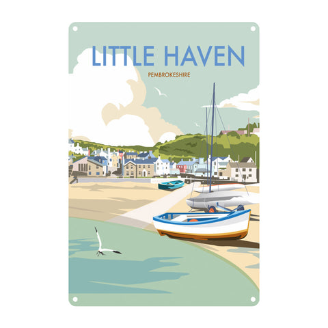 Little Haven, Pembrokeshire Metal Sign