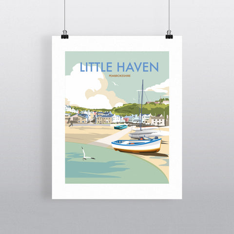 Little Haven, Pembrokeshire 40x50cm Fine Art Print