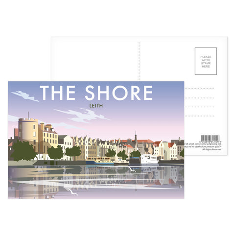The Shore, Leith Postcard Pack