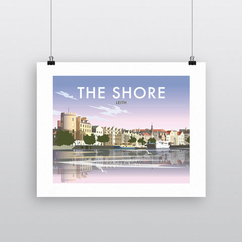 The Shore, Leith 60x80cm Fine Art Print