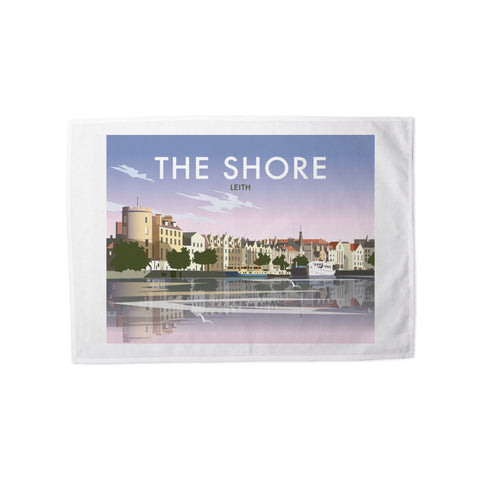 The Shore, Leith Tea Towel
