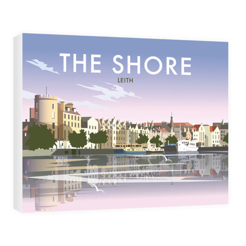 The Shore, Leith 40cm x 60cm Canvas