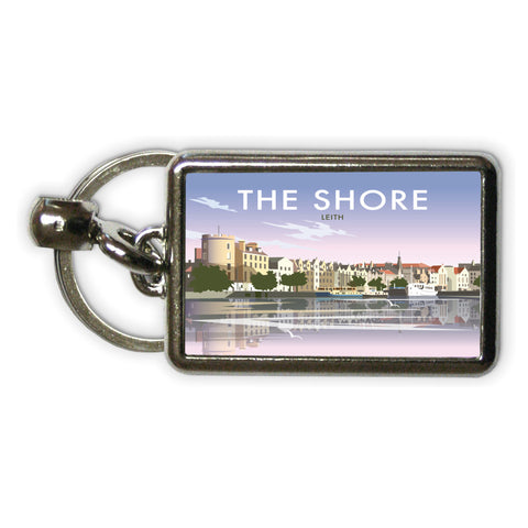 The Shore, Leith Metal Keyring