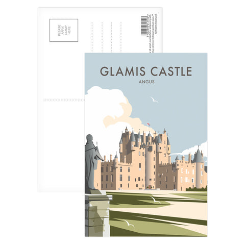 Glamis Castle, Angus Postcard Pack