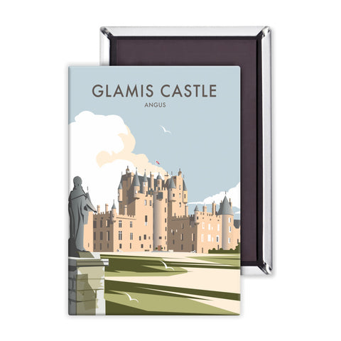 Glamis Castle, Angus Magnet