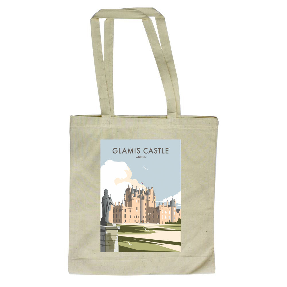 Glamis Castle, Angus Canvas Tote Bag