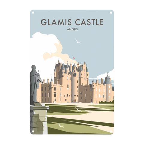 Glamis Castle, Angus Metal Sign