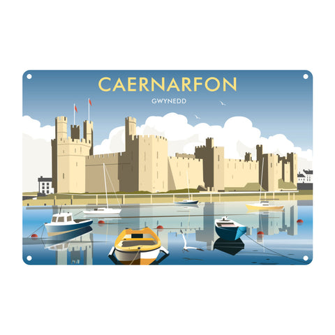 Caernafon Metal Sign