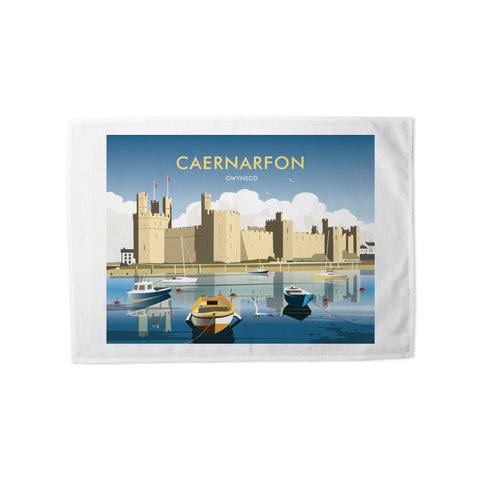 Caernafon Tea Towel