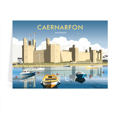 Caernafon Greeting Card 7x5