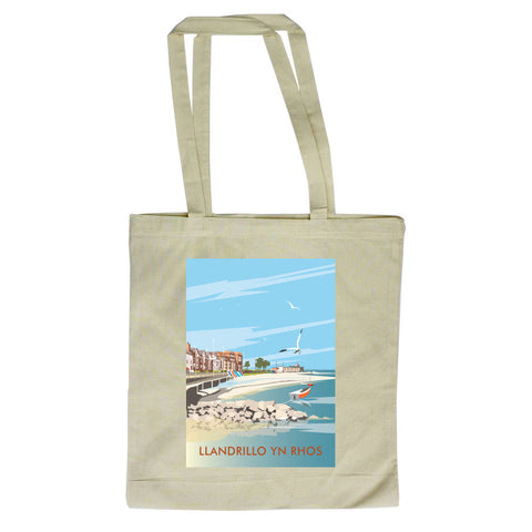 Llandrillo Yn Rhos Canvas Tote Bag