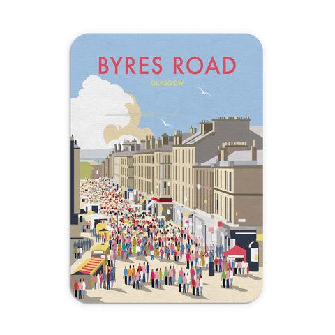 Byres Road, Glasgow Mouse Mat