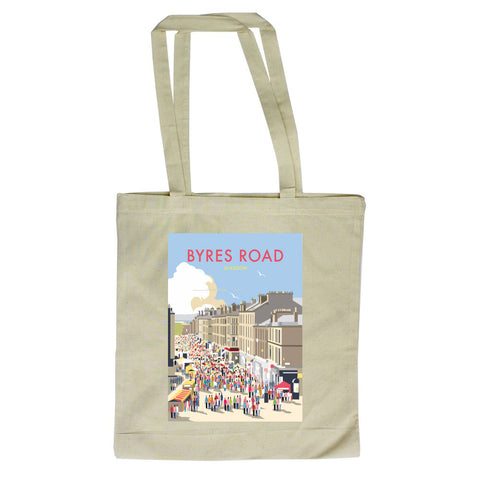 Byres Road, Glasgow Canvas Tote Bag