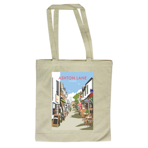 Ashton Lane, Glasgow Canvas Tote Bag