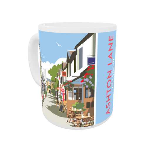 Ashton Lane, Glasgow Mug