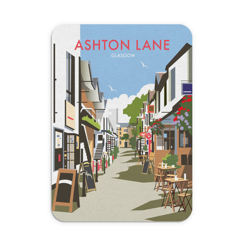 Ashton Lane, Glasgow Mouse Mat