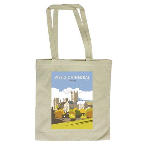 Wells Catherdral, Somerset Premium Tote Bag
