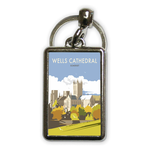Wells Catherdral, Somerset Metal Keyring