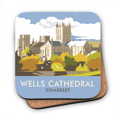 Wells Catherdral, Somerset MDF Coaster