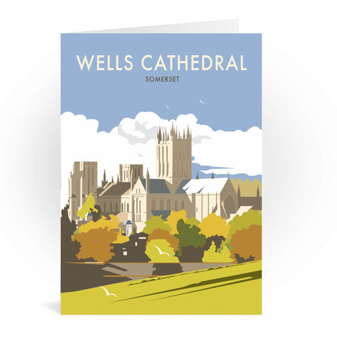 Wells Catherdral, Somerset Greeting Card 7x5